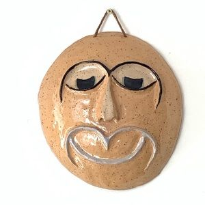 Other - Mid-Century / Art Deco Handmade Ceramic Mask